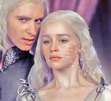 Don't wake the Dragon Daenerys by bellskikis