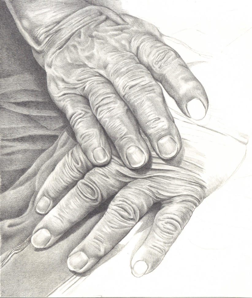 Mothers Hands wip by Laurasshadesofgrey