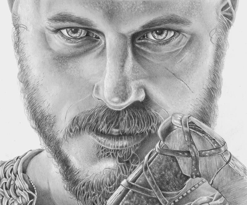 Ragnar Lothbrok by Laurasshadesofgrey