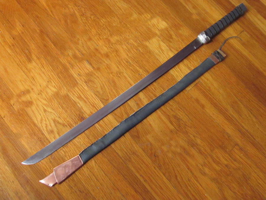 Asian Short Sword By Hairforge On Deviantart