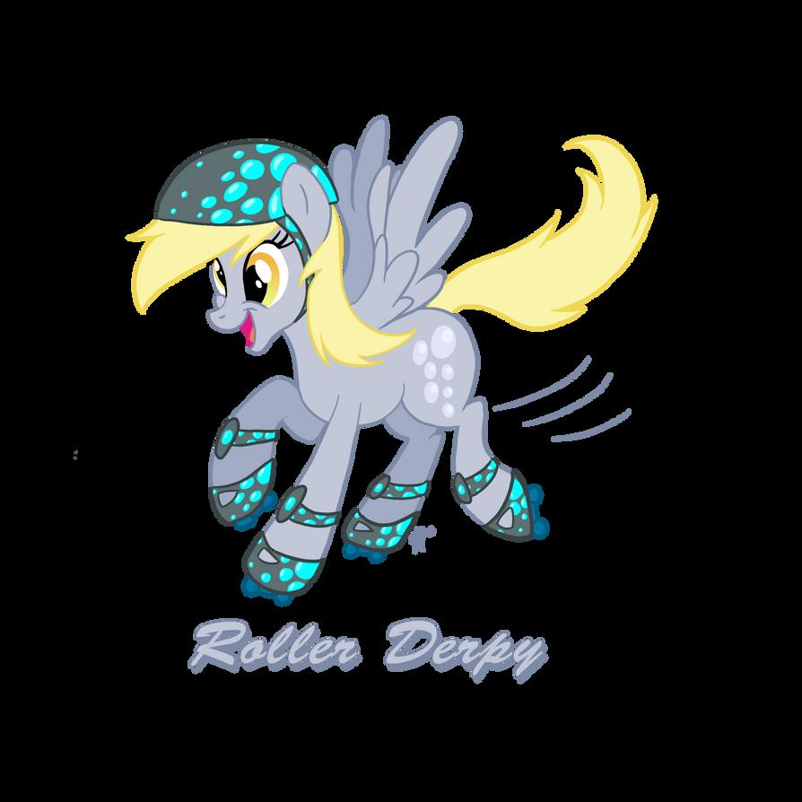 Roller Derpy by ClutterCluster