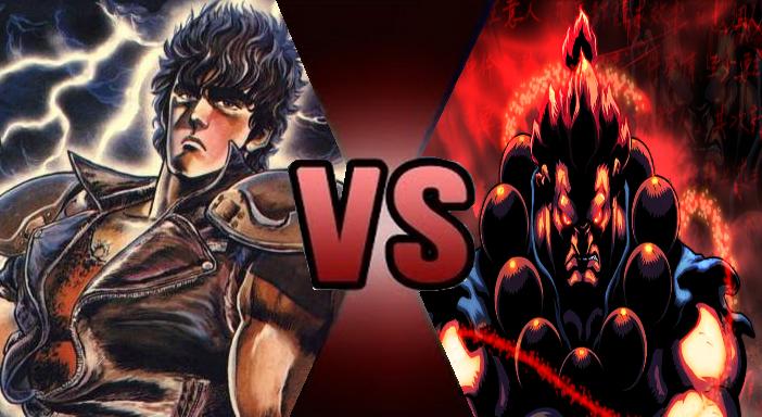 kenshiro vs akuma by mythkirby2 on deviantart