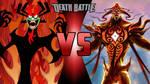 Aku vs. Vaatu by MythKirby2