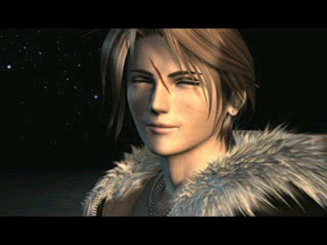 Squall Leonheart Smiling By Spectre0 On DeviantArt