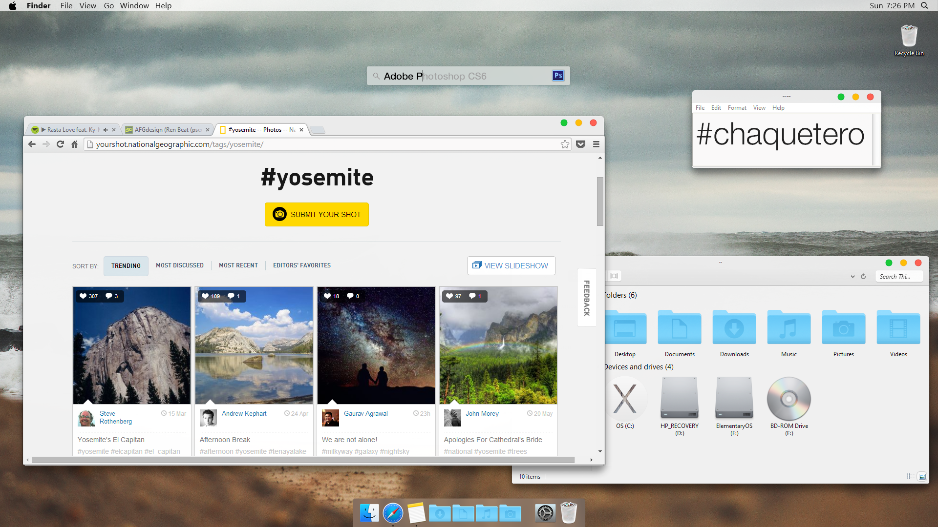 Google chrome themes yosemite -  Win 8 1 Yosemite Screenshot With Notes 8 06 2014 By Afgdesign