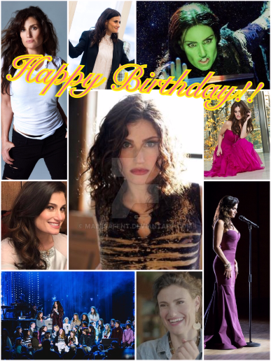 Happy Birthday Idina Menzel!! by Malesafent
