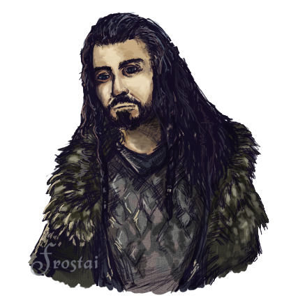 how to draw thorin oakenshield