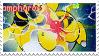 ampharos stamp by senavi