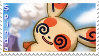 spinda stamp