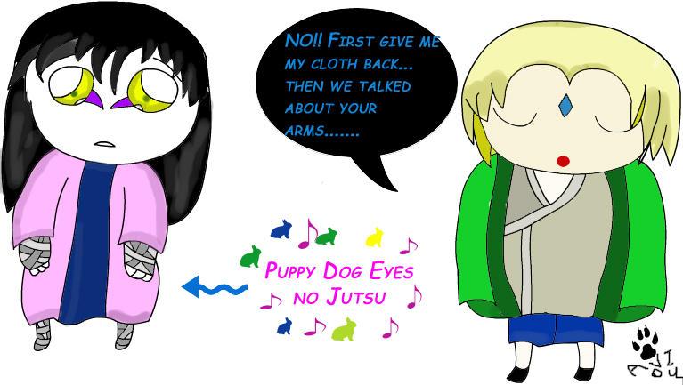 Naruto Puppy Dog Eyes No Justsu