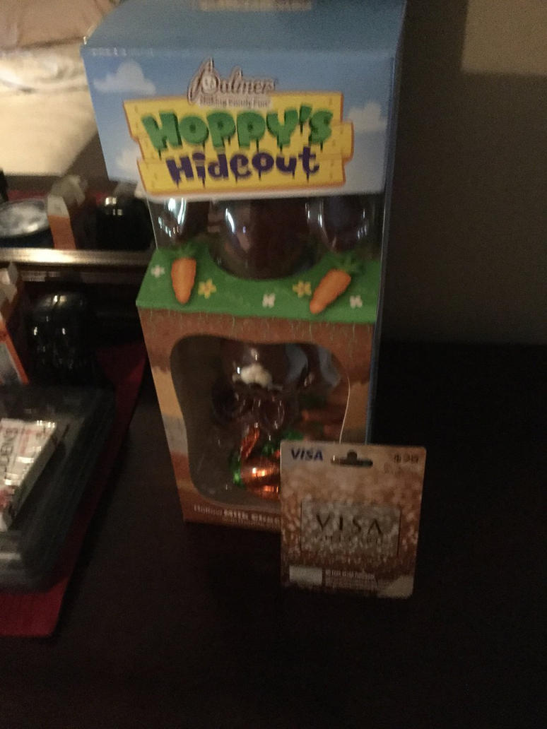 I got cocolate bunny and visa gift card for easter by i got cocolate bunny and visa gift card for easter by ultimatecartoonfan99 negle Choice Image