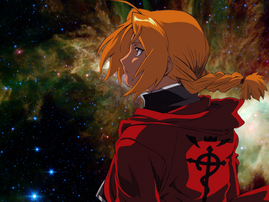 Edward Elric. Night Sky. by xLostRemedyx
