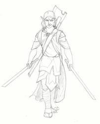 Elf Katana Warrior