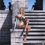 1 - Valkya - Elven Bounty Hunter