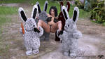 2020 Easter Special - Syndori - Naughty Bunnies by Angelblade69