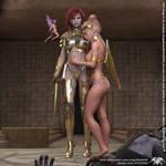 LoZ - Zelda X Fraya - Evils End Beauty Saved by Angelblade69