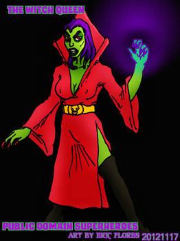 The Witch-Queen Public Domain Villian