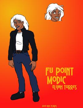 Character Sketch Elijah Torres