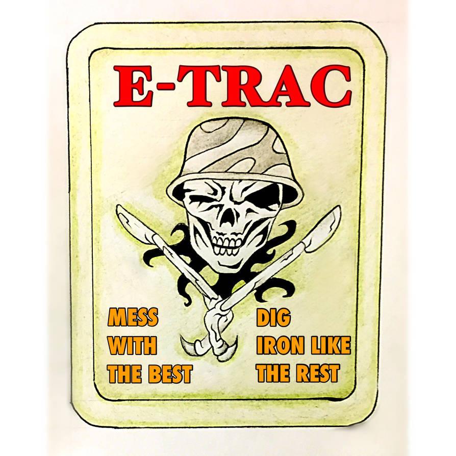 E-TRAC metal detecting club logo by El-bowler on DeviantArt