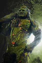 Swampthing avatar of the green