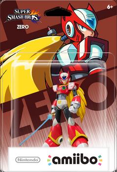 Megaman X Zero Amiibo Box Art Mockup