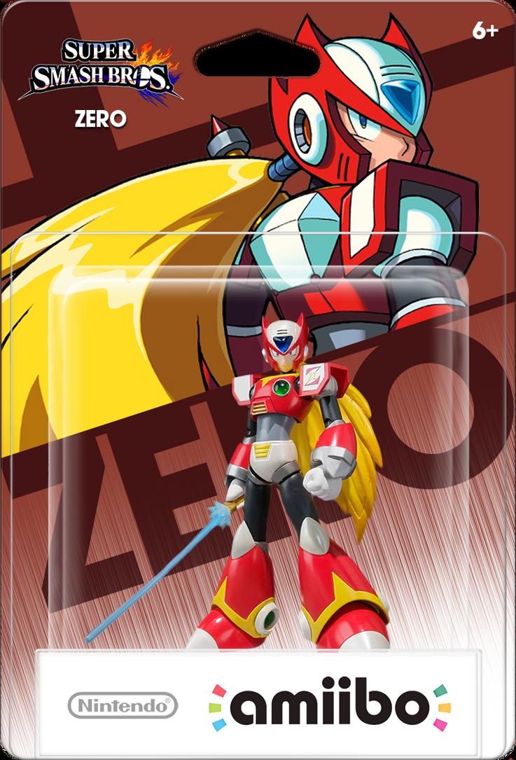 Megaman X Zero Amiibo Box Art Mockup by DarkSSJShinji