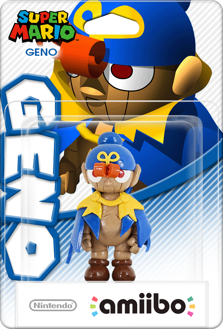 SMRPG Geno Amiibo Box Art Mockup by DarkSSJShinji