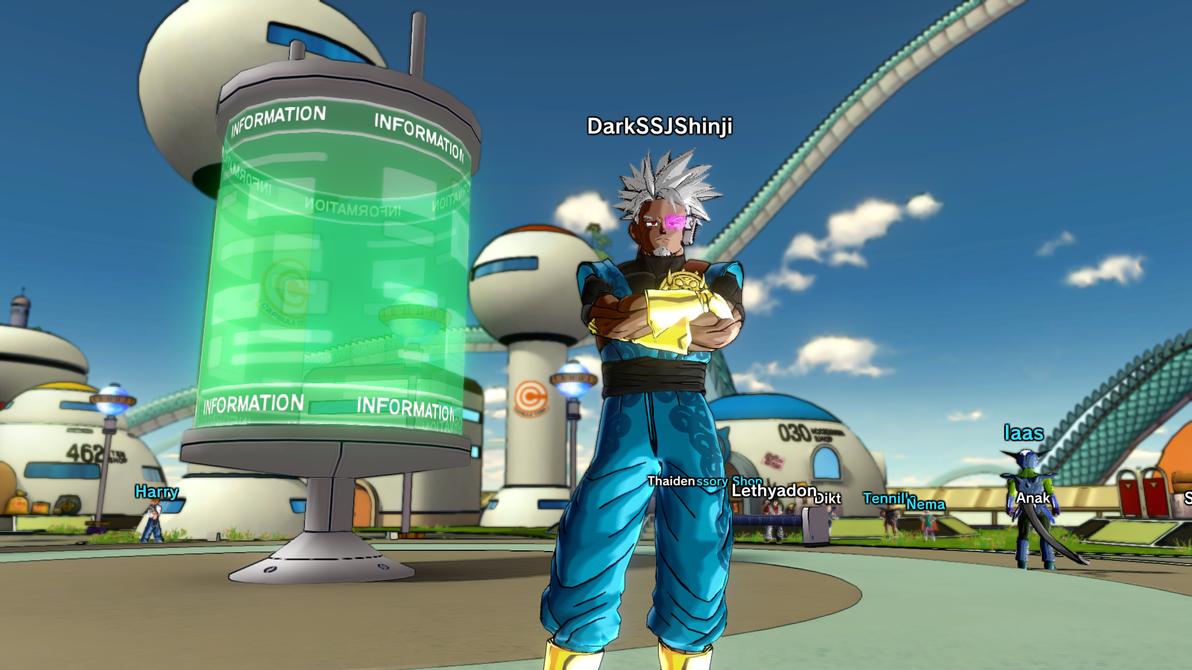 DB Xenoverse - My Saiyan Character 4 by DarkSSJShinji
