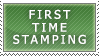 First Stamp by DarkSSJShinji