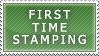 First Stamp by DarkSSJShinji