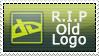 RIP Old dA Logo Stamp by DarkSSJShinji