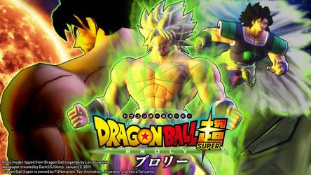 Dragon Ball Legends - DBS Broly Wallpaper by DarkSSJShinji