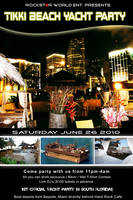 Yacht Party Flyer - Front by AngelaRaves