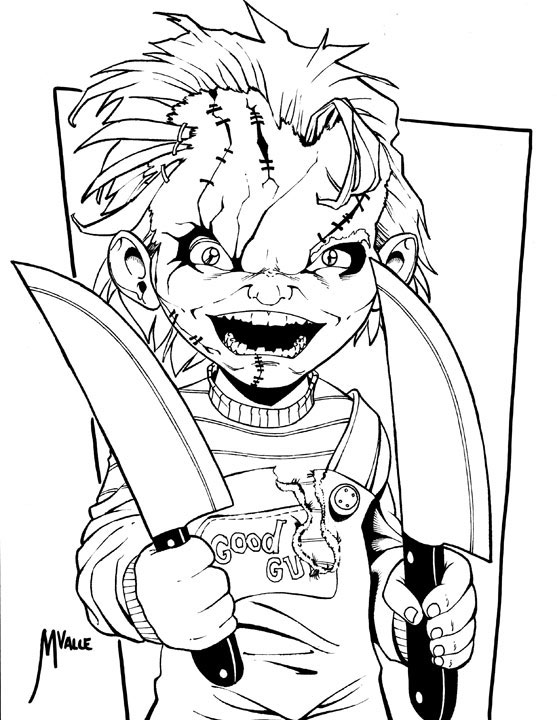 scary tattoos coloring pages - photo#5