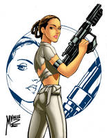 Padme Commission by MJValle