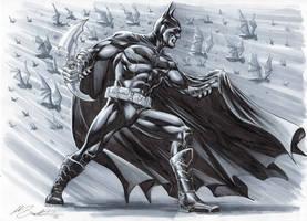 Batman by mrno74