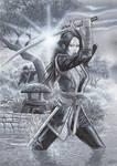 Girl Power Portfolio - Samurai Girl
