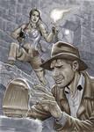 Indiana Jones meets Lara Croft