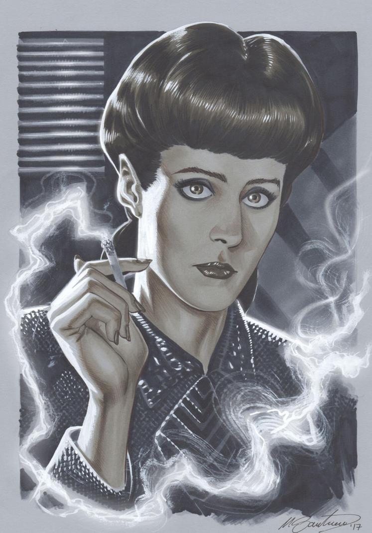 Rachel (Blade Runner) by mrno74