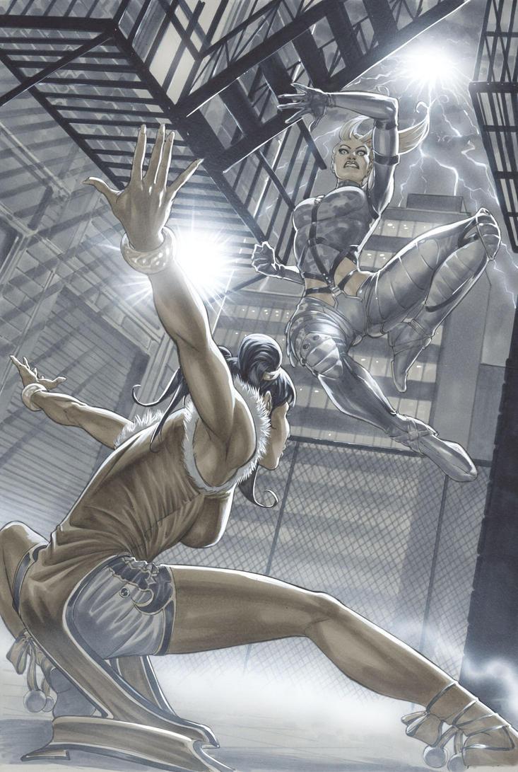 Tekken #1 variant cover by mrno74