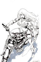Red Sonja #11 cover by mrno74