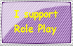 I support role play stamp by KeyaraHedgehog09