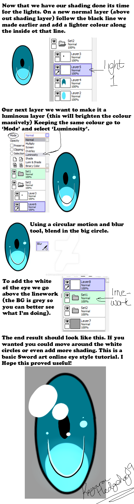 SAO eye tutorial part 2 (end) by KeyaraHedgehog09