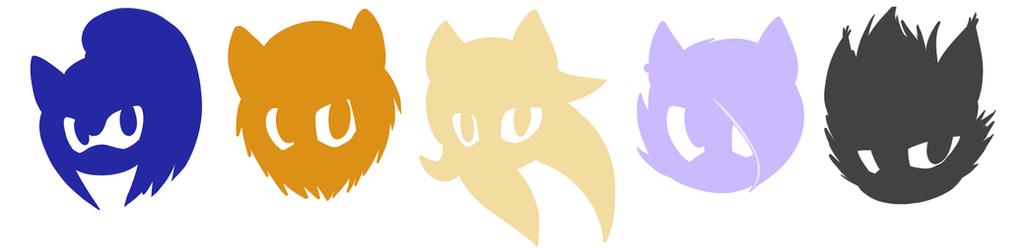 Logo Batch 1 by KeyaraHedgehog09