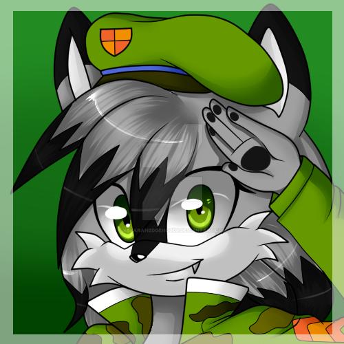 PC lycaon-the-wolf by KeyaraHedgehog09