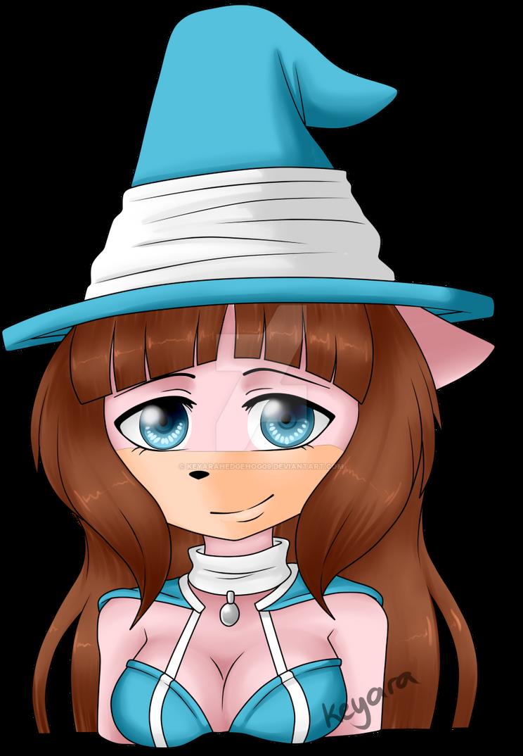 C Lily Bust  by KeyaraHedgehog09