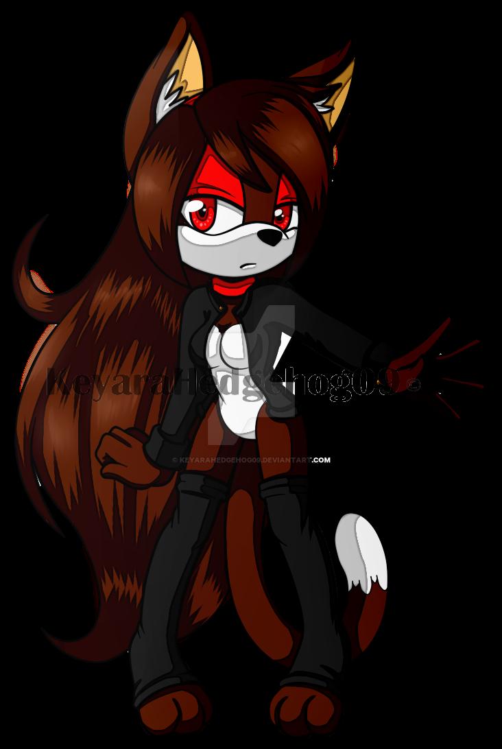 -Collab- Scarlet  by KeyaraHedgehog09