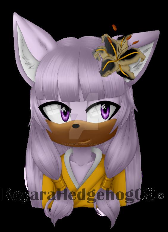 Iris bust  by KeyaraHedgehog09