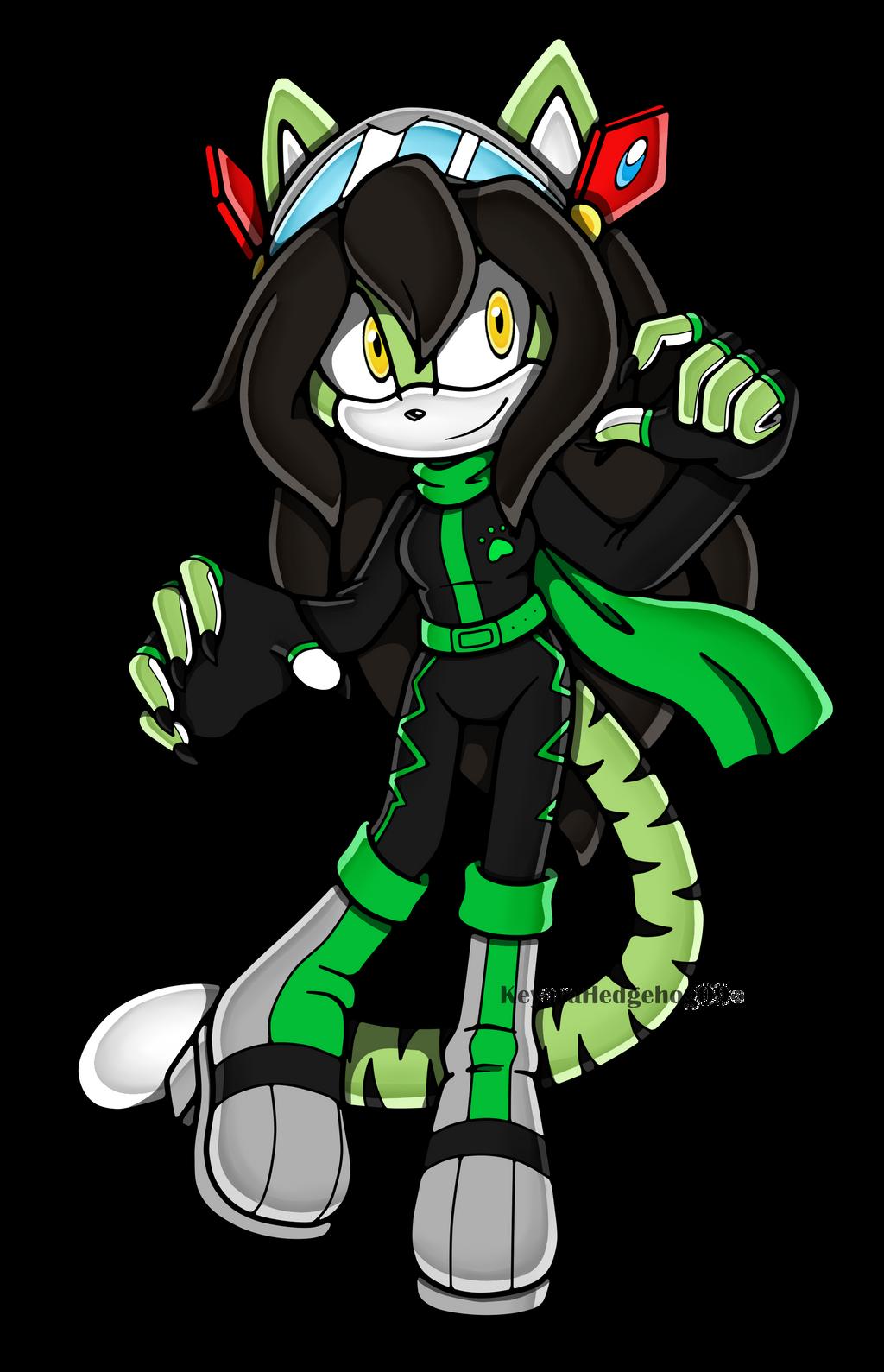 PC Green-X-Demon by KeyaraHedgehog09