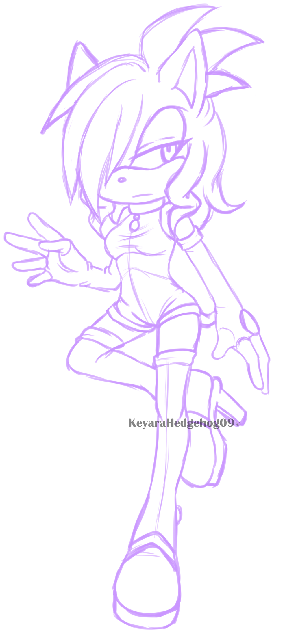 Adriana sketch by KeyaraHedgehog09
